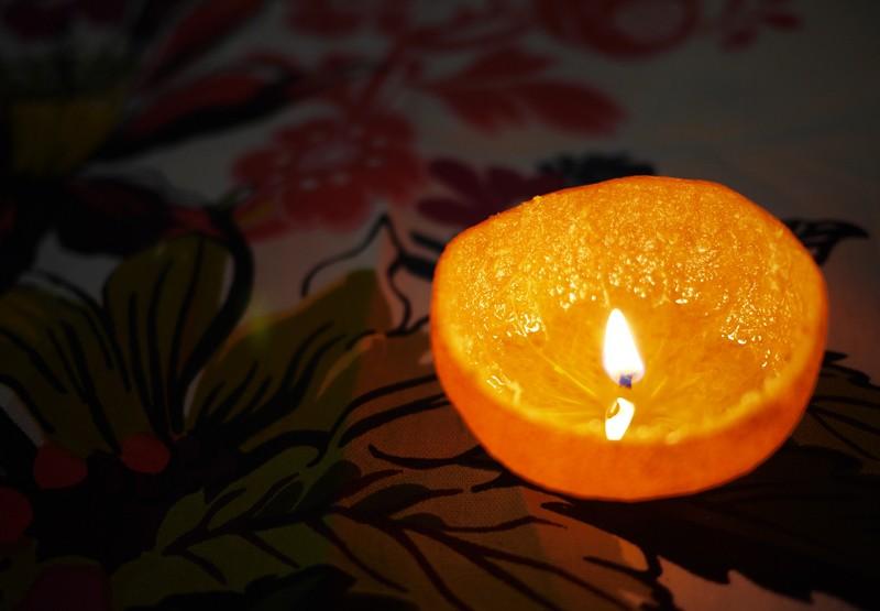 orange-candle