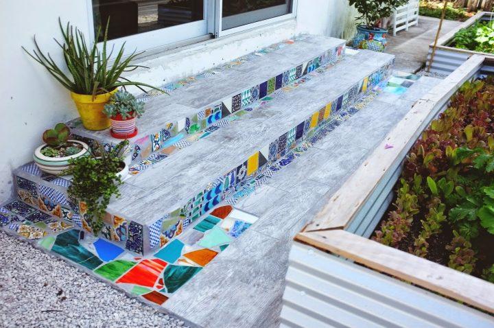 ιδέες για διακόσμηση με έθνικ πλακάκια