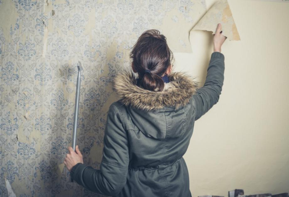 πως να βγαλω την ταπετσαρια απο το τοιχο μονη μου diy