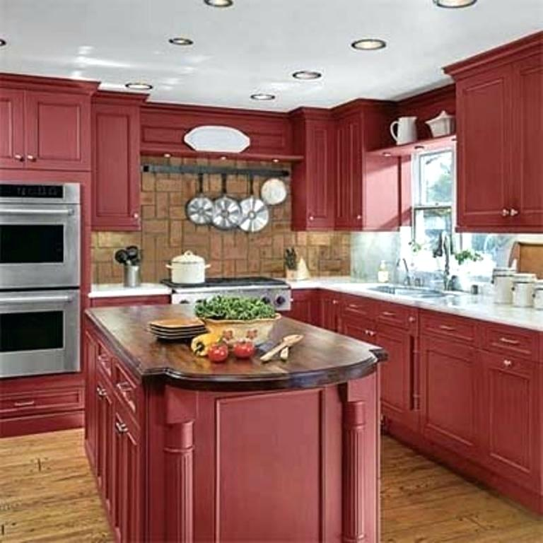 100 - Black red and white kitchen designs ...